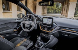 Ford Fiesta Active cockpit
