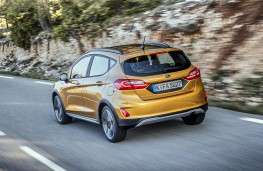 Ford Fiesta Active rear action