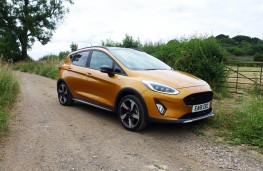 Ford Fiesta Active, front static