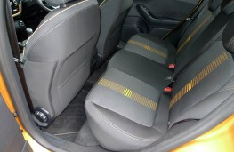Ford Fiesta Active, rear seats