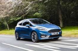 Ford Fiesta ST, front action