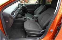 Ford Focus Active, front seats