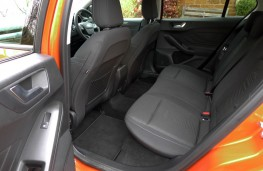 Ford Focus Active, rear seats