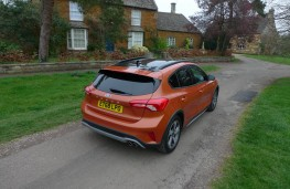 Ford Focus Active, rear static