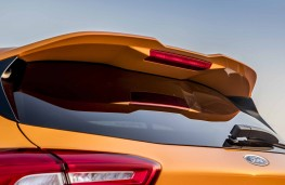 Ford Focus ST 2019 rear spoiler