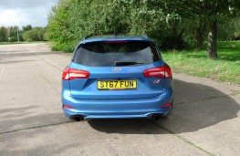Ford Focus ST Estate, full rear static