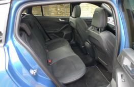 Ford Focus ST Estate, rear seats