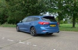 Ford Focus ST Estate, rear static