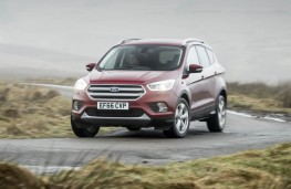 Ford Kuga, front action 2