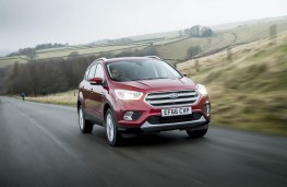 Ford Kuga, front action 3