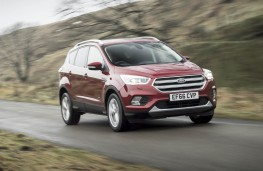 Ford Kuga, front action