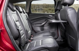Ford Kuga, rear seats