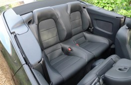 Ford Mustang, rear seats