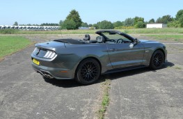 Ford Mustang, rear static