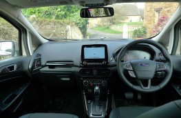 Ford EcoSport, dashboard