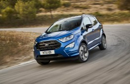 Ford EcoSport, front action 2