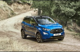 Ford EcoSport, front action