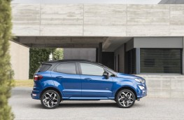 Ford EcoSport, side static