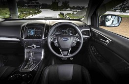 Ford Edge, dashboard