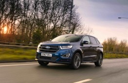 Ford Edge, front action 2