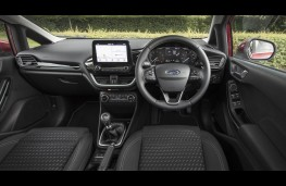 Ford Fiesta, dashboard