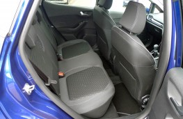 Ford Fiesta, rear seats