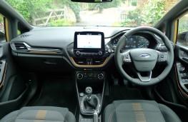 Ford Fiesta Active, dashboard
