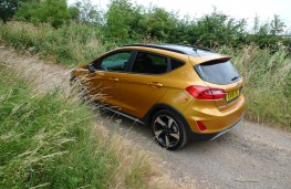 Ford Fiesta Active, rear static 2