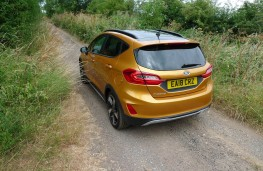 Ford Fiesta Active, rear static