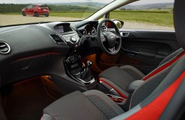 Ford Fiesta Red Edition, cockpit