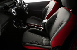 Ford Fiesta Red Edition, seats