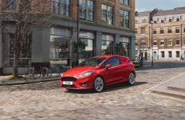 Ford Fiesta Sport van, front