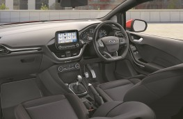 Ford Fiesta Sport van, interior