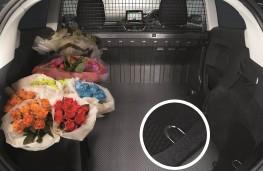 Ford Fiesta Sport van, load bay