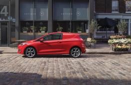 Ford Fiesta Sport van, side