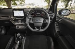 Ford Fiesta ST, dashboard