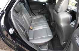 Ford Focus ST-3, rear seats