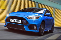 Ford Focus RS, front action 2