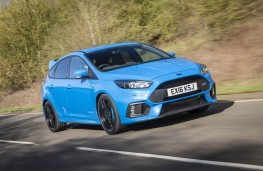 Ford Focus RS, front action