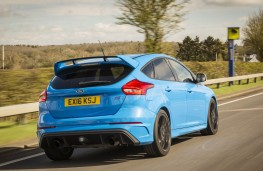 Ford Focus RS, rear action