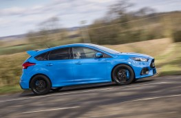 Ford Focus RS, side action