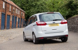 Ford Grand C-MAX, rear static