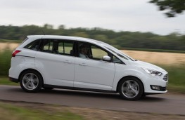 Ford Grand C-MAX, side action