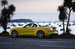 Ford Mustang Cabrio rear threequarter