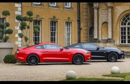 Ford Mustang, two cars