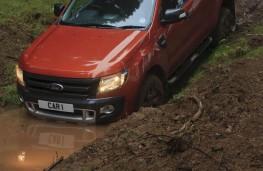 Ford Ranger, upright