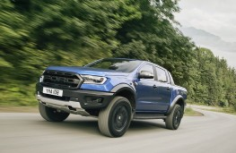 Ford Ranger Raptor on-road