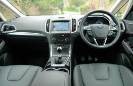 Ford S-Max, dashboard