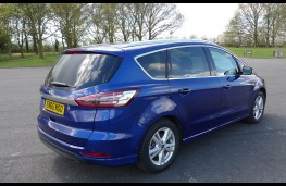 Ford S-Max, rear static