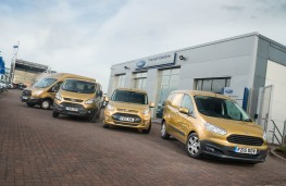 Ford Transit, golden line up